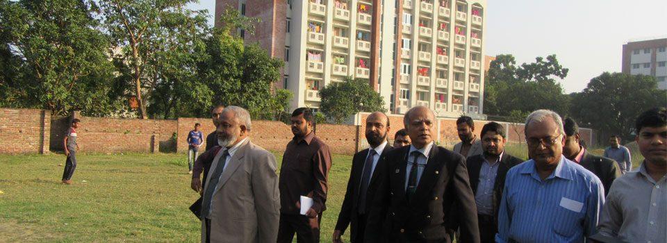 Professor (Dr.) Qazi Shahidul Alam Visit IBMCR
